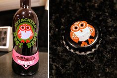 Hitachino Nest Beer.  don't know how it tastes but it has an owl!!!