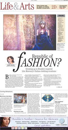 Boulder Daily Camera Life & Arts Cover - Oct. 6, 2013   Boulder ...