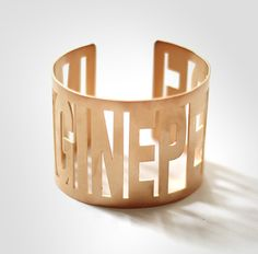 Imagine Peace Bracelet by Yoko Ono