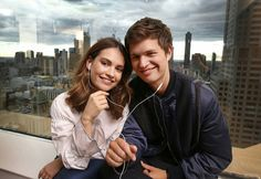 Baby Driver Lily James and Ansel Elgort Lily James Baby Driver, Beautiful Boys, Beautiful People, Augustus Waters, Cute Romance, The Love Club, Ansel Elgort, Richard Madden, Cinema