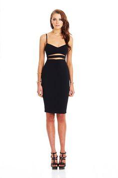 Black Bridget Bustier Dress : Buy on Sale Now