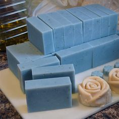 Herbs, Minerals, Micas, Flowers, and other ways you can naturally color handmade soap