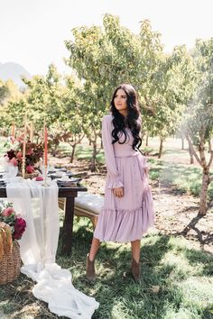 Rachel Parcell Collection October New Arrivals. - Pink Peonies by Rach Parcell Jw Fashion, Muslim Fashion, Modest Fashion, Latest Fashion For Women, Hijab Fashion, Autumn Fashion, Fashion Dresses, Fashion Tips, Fashion Spring