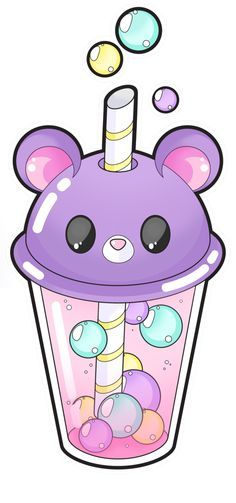 Bear bubble tea [Commissions open] by Meloxi.deviantart… on Bear bubble tea [Commissions open] by Meloxi.deviantart… on Cute Food Drawings, Cute Kawaii Drawings, Kawaii Doodles, Cute Animal Drawings, Easy Drawings, Drawing Animals, Chat Kawaii, Anime Kawaii, Kawaii Art