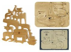 This wooden toy was designed in 1957 for the Italian companyDanese, and has gone through a number of re-editions in different materials si...