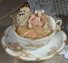 sleeping teacup fairy