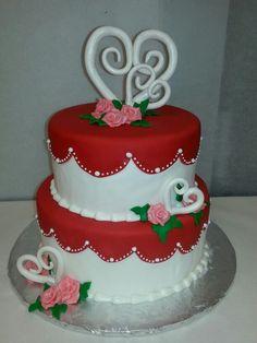 Valentine's cake facebook.com/terrycakessparks