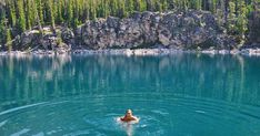 This KM Hike Near Calgary Leads You To A Hidden Turquoise Swimming Hole Alberta's Swimming Hole Hike Is A Refreshing Activity For Summer 2019 - Narcity Best Swimming, Swimming Holes, Calgary, Places To Travel, Places To See, Travel Sights, Alberta Travel, Canada Summer, Canadian Travel