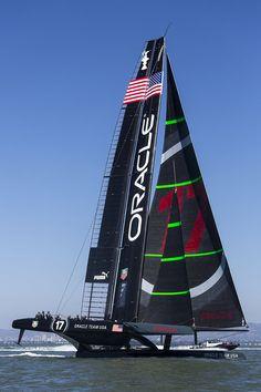 America's Cup - Oracle Team USA AC72 Yacht 17