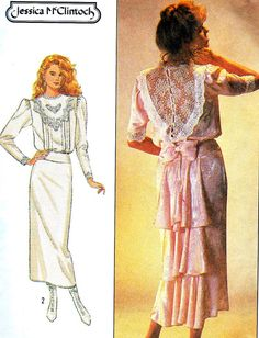 Vintage Sewing Pattern 1980s Simplicity 8224 by paneenjerez, $8.00