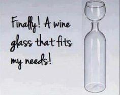 My New Wine Glass