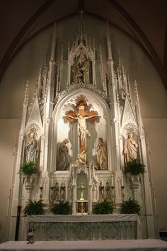 Old Catholic Church, Catholic Altar, Catholic Churches, Old Churches, Roman Catholic, Church Architecture, Religious Architecture, Jesus Scriptures, Religion Catolica