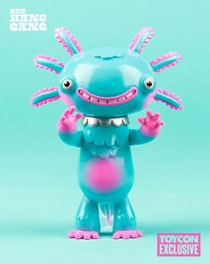 #ToyConUK-Exclusive Wooper Looper from Gary Ham x The Hang Gang