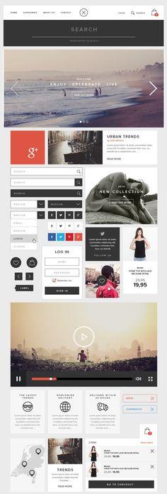Ressource – UI kit pour un e-commerce