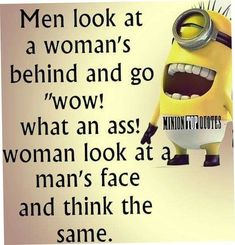 "These ""Top 20 LOL SO True Memes Minions Quotes"" are very funny and full hilarious.If you want to laugh then read these ""Top 20 LOL SO True Memes Minions Quotes"" Humor Minion, Funny Minion Memes, Minions Quotes, Funny Jokes, Funny Sarcastic, Funniest Memes, Funny Laugh, Minion Pictures, Funny Pictures"