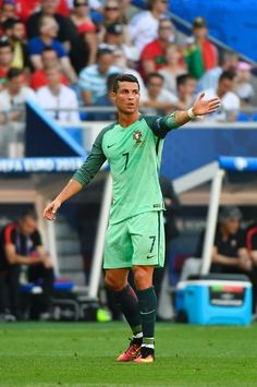 4c0ef34dd Portugal s forward Cristiano Ronaldo reacts during the Euro 2016 group F  football match between Hungary and