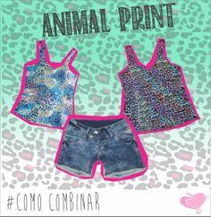 #ComoCombinar: #AnimalPrint  Animal Print é #tendencia, que tal investir nos seus #looks?  #fashion #MustHave #CodigoGirls