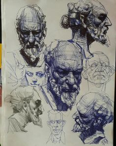 34 New Ideas For Drawing Sketches Skull Design Reference Portrait Sketches, Portrait Art, Drawing Sketches, Drawing Portraits, Drawing Ideas, Portrait Ideas, Realistic Pencil Drawings, Cool Drawings, Figure Drawings