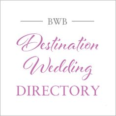 A comprehensive list of world wide wedding destinations, complete with detailed guides for each location - Italy, France, Mexico, Costa Rica, Iceland, Thailand, Bali ...