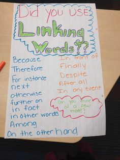 words to link essay paragraphs