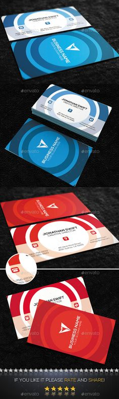 Creative Business Card #design Download: http://graphicriver.net/item/creative-business-card-no06/9105578?ref=ksioks