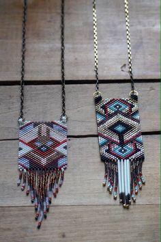 New peyote necklaces!