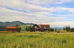 Taunya Fagan #Montana #LogHomes Gallatin Gateway Montana.