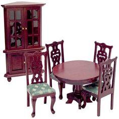 6-Pc. 18th Century Dining Room Set (Dining Room - option 1)
