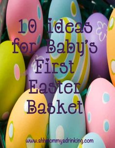 101 non candy easter basket ideas for kids holiday easter shh mommys drinking 10 ideas for babys first easter basket negle Image collections