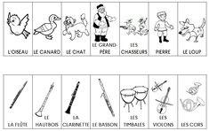 Personnages et instruments