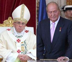 El papa Francisco y laabdicación de don Juan Carlos, los 'reyes' de Twitter en 2014 #realeza #royalty