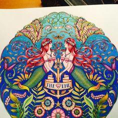 By Kari Walker -  Johanna Basford | Colouring Gallery