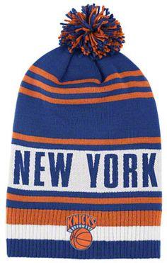 New York Knicks adidas Originals Legendary Classic Pom Knit Hat $17.99