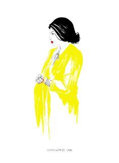 Yellow Coat – Doodle