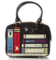 Lulu Guinness Don't Judge a Book By Its Cover Bag Collection