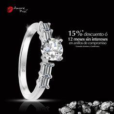Anillo de Oro Blanco 14kt SKU: WG1429958 Diamante Redondo 0.28 quilates. Color- F, Claridad VS1 Laboratorio - GIA-DGC, SKU Diamante: 34540, Piedras Laterales: [4-3X2SB]= 0.32 pts, Precio: $43,246.44 pesos M.N -15% = $36,759.47 pesos M.N. *Consulte términos y condiciones.