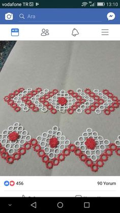 This Pin was discovered by Fay Knit Crochet, Crochet Stitches, Tatting Patterns, Crochet For Beginners, Baby Knitting Patterns, Table Runners, Crochet Projects, Elsa, Diy And Crafts