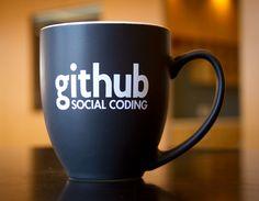 github : Black GitHub Mug - $12