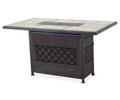 """Wilson & Fisher 40"""" Del-Rio Gas Fire Pit Table 