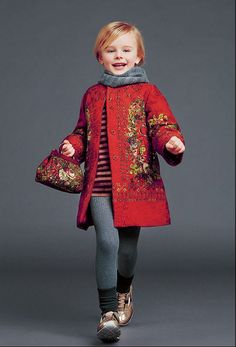Dolce & Gabbana Çocuk 2014 Sonbahar Kış Kolleksiyonu