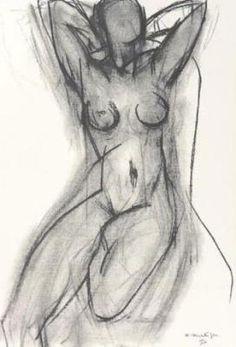 Henri Matisse - Nu dans un fauteuil - 1950