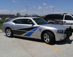 Colorado state police car