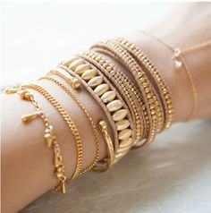 Gold Layers #armcandy #chanluu