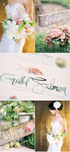 Love the calligraphy and the flowers