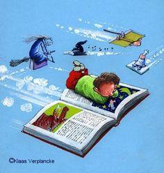 http://boekenboekenboeken.blogspot.be Geen leven zonder boeken. Over lezen en boeken ~ Over liefde voor letters: leesblog van Katrien Temmerman over jeugdboeken.  Leest boeken per kilogram en heeft een kilo of tien boontjes voor Kinder- en Jeugdliteratuur.  Schrijft hierover en probeert dat te doen wars van regeltjes en het liefst af en toe stevig buiten de lijntjes.