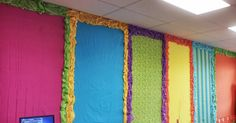 Where Learning is FUN!: Colorful Bulletin Boards, sheets and plastic tablecloths Where Learning is FUN!: Colorful Bulletin Boards, sheets and plastic tablecloths Bulletin Board Borders, Back To School Bulletin Boards, Classroom Board, Classroom Bulletin Boards, New Classroom, Classroom Themes, Classroom Organization, Classroom Management, Soft Board Decoration