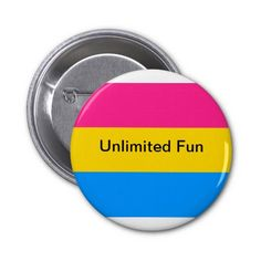 A pansexual button Gay Outfit, Pride Outfit, Beautiful Images, Lgbt, Buttons, Humor, Big, Funny, Clothing