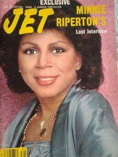 Minnie Riperton Jet Magazine, Black Magazine, Ebony Magazine Cover, Magazine Covers, Minnie Riperton, Interview, Essence Magazine, Vintage Black Glamour, Black History Facts