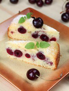 Cake Stock, Sponge Cake, Cheesecake, Cherry, Pudding, Sweets, Breakfast, Food, Stock Photos