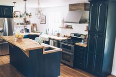 It wasn't until I started putting it together that I realized how much we actually did in our kitchen renovation (see the before here).